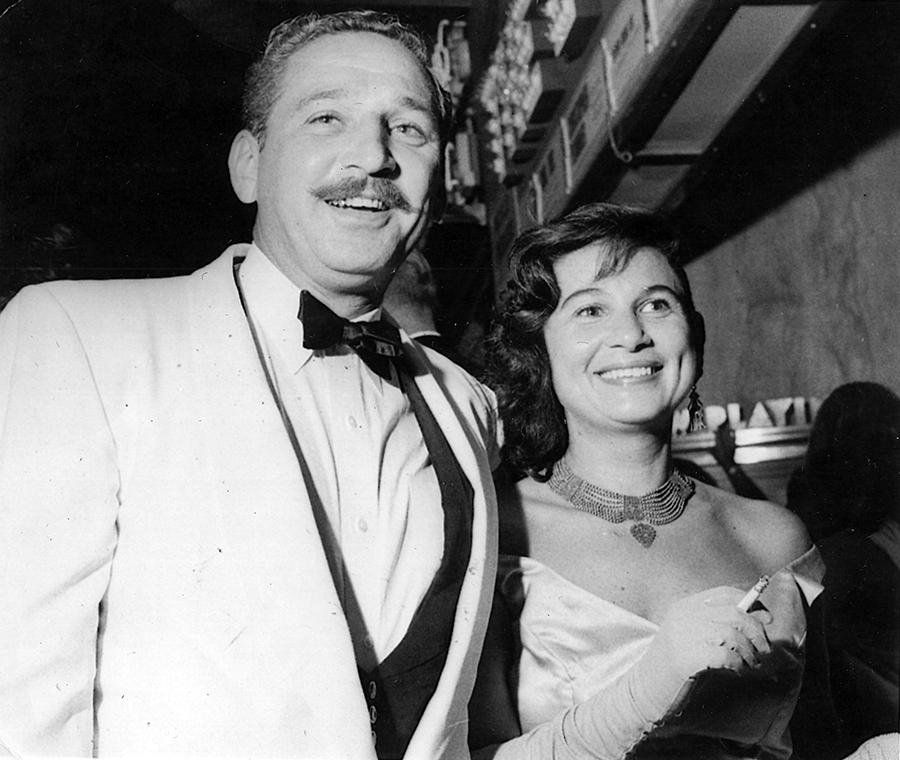 Syd and Annie Solomon, 1958